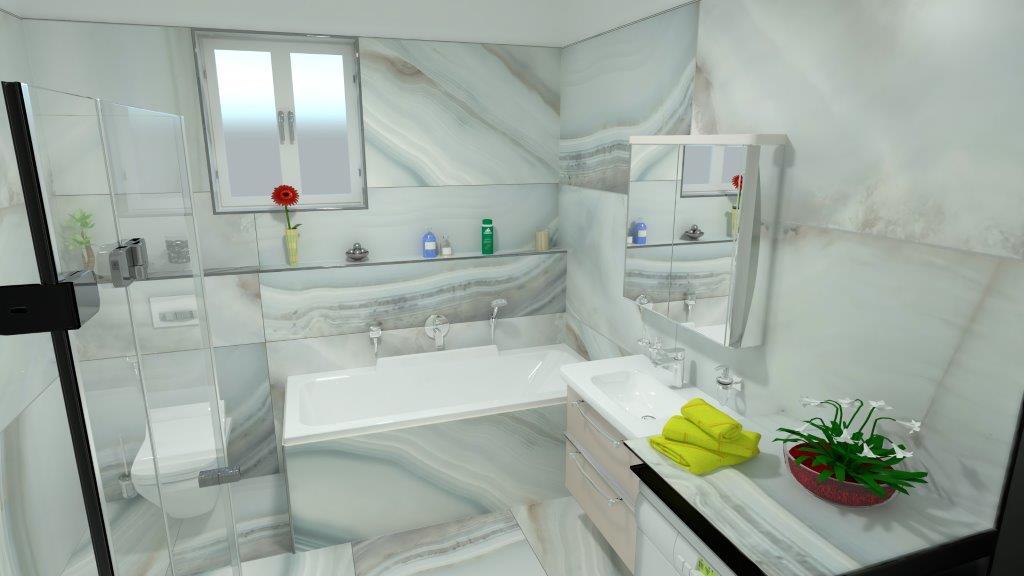 Inspirace 3D vizualizace - var. O   Richter + Frenzel