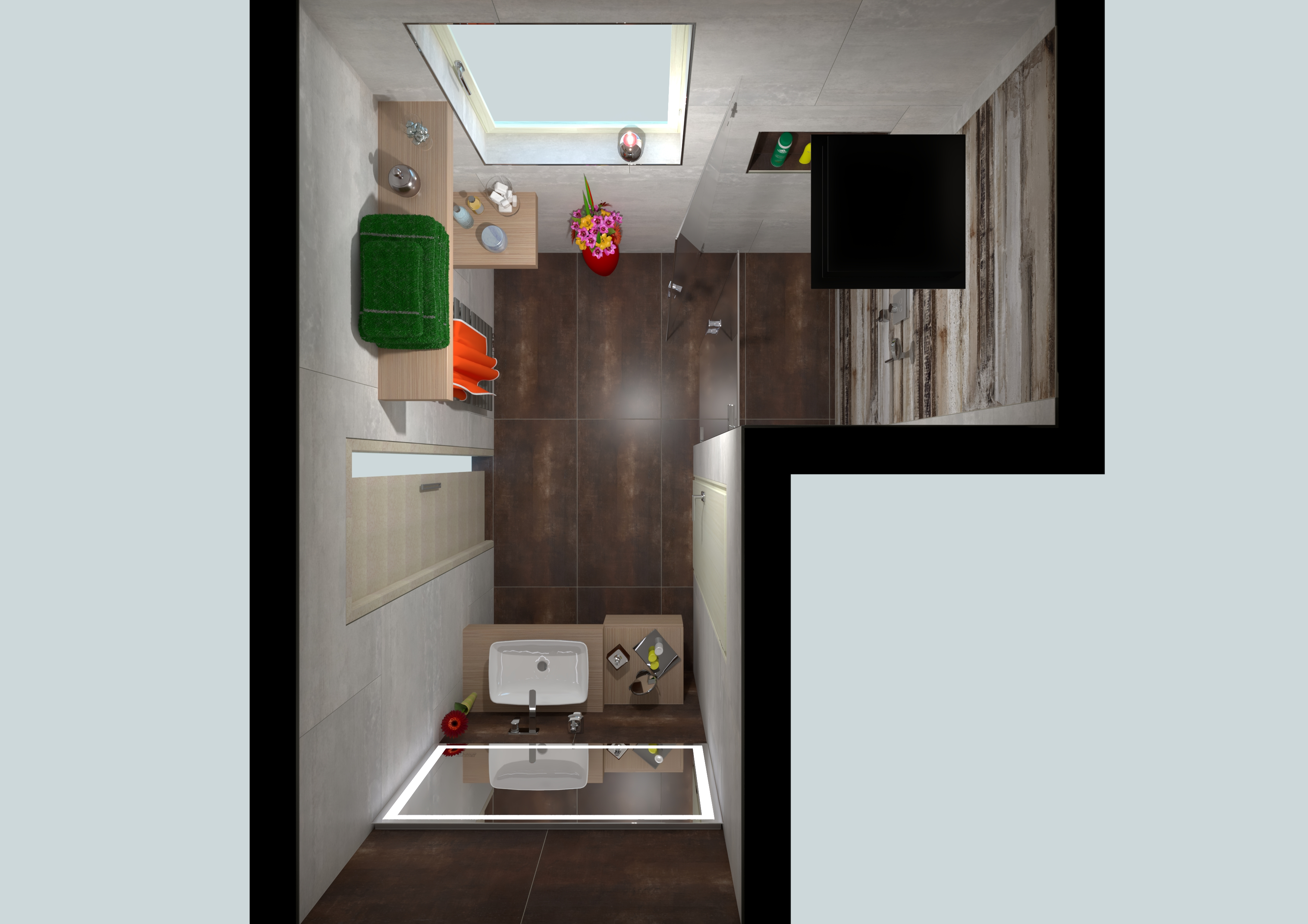 Inspirace 3D vizualizace - var. C   Richter + Frenzel