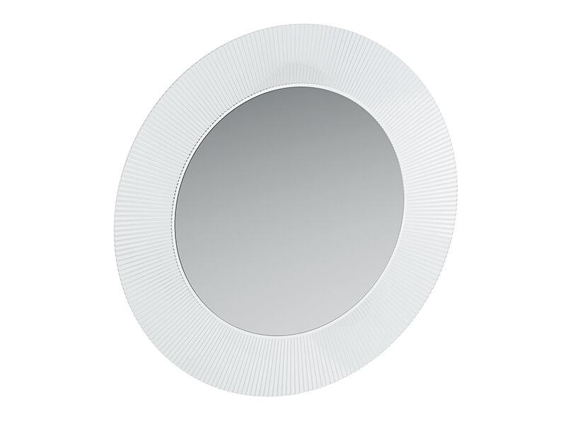 Zrcadlo ALL AINTS KARTELL Zrcadlo bez osvětelní, průměr 78 cm, barva bílá