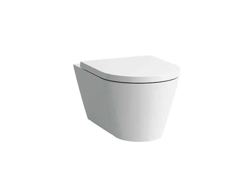 Závěsné WC KARTELL Rimless, barva bílá + LCC