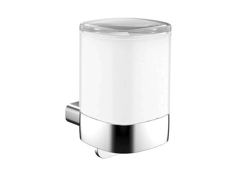 Dávkovač mýdla s držákem EUROPA 2.0 Barva: sklo/chrom