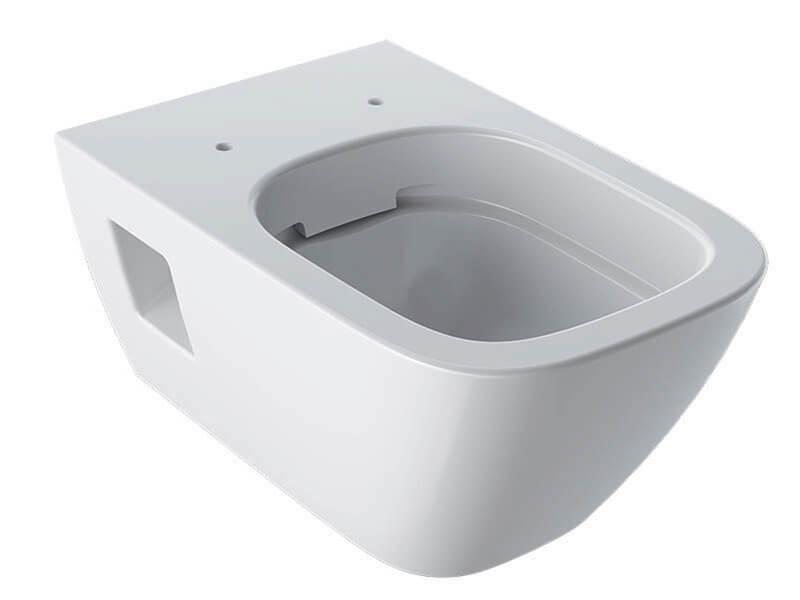 WC závěsné SELNOVA Rimfree, barva bílá