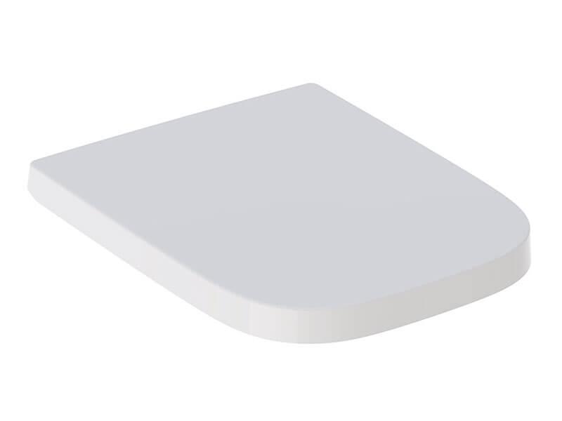 WC sedátko SELNOVA Zpomalovací/duroplast, barva bílá