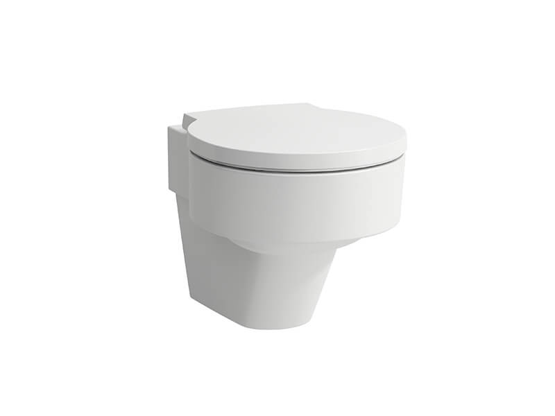 WC závěsné VAL Bílé WC rimless