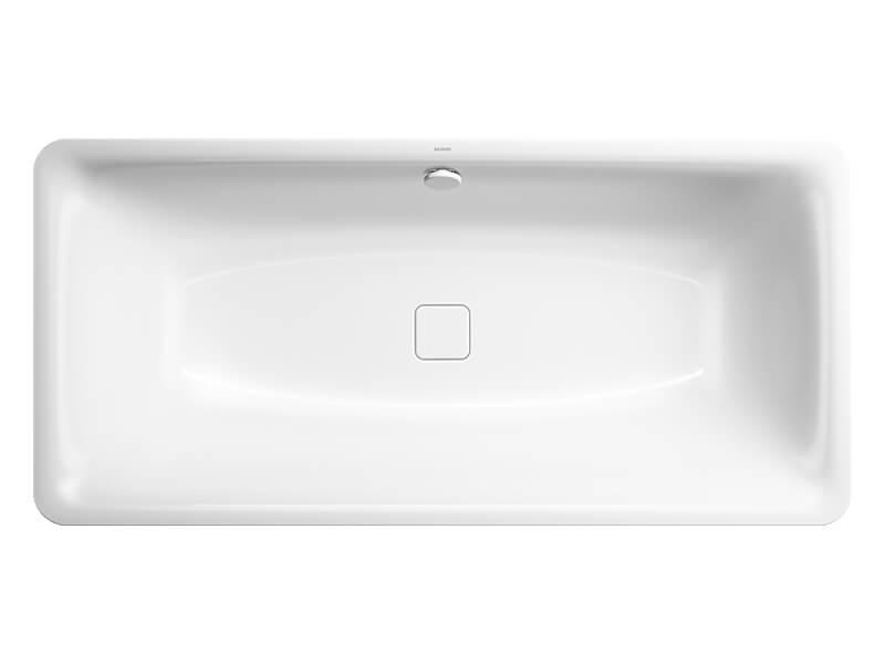 Volně stojící vana KALDEWEI Vana s panelem včetně nohou a sifonu, smaltovaná, barva: bílá + Easy clean finish