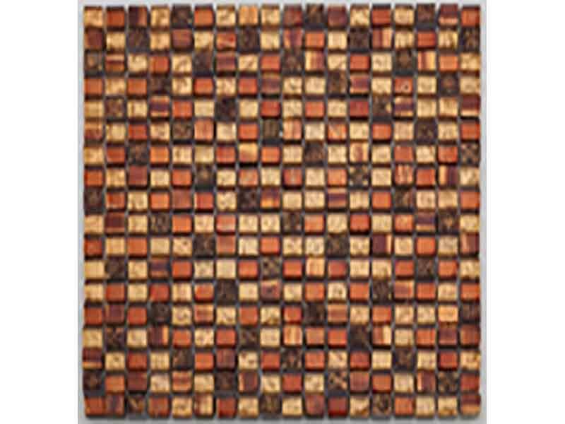Mozaika TUSCANY Barva: zlato-červená, lesklý povrch