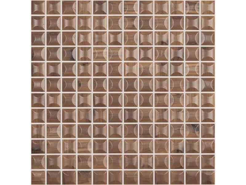 Mozaika WOODS Barva: nogal 3D woods, matný povrch