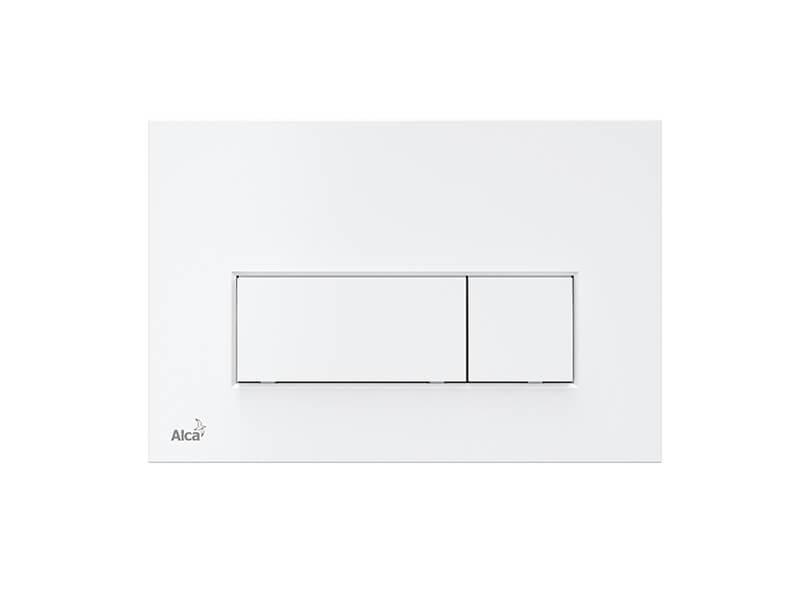 Deska ovládací ALCAPLAST Deska ovládací, dual flush, plast, barva bílá