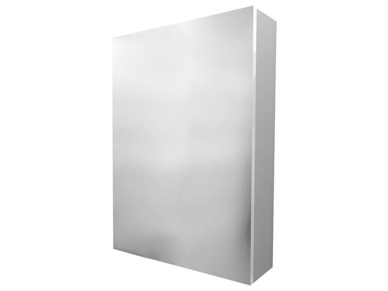 Skříňka zrcadlová BERN Závěsná skříňka, 1x dvířka, levá/pravá, barva bílá