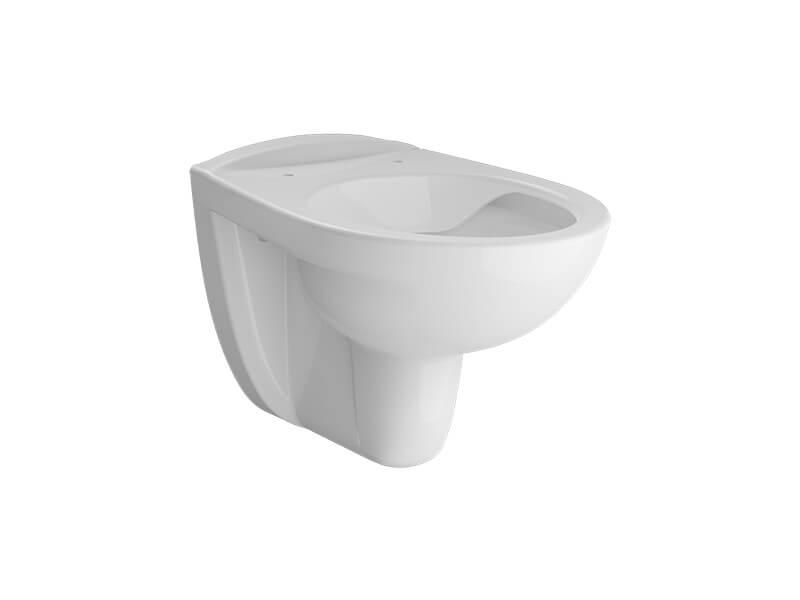 Závěsné WC PERFETTO Rimless, barva bílá