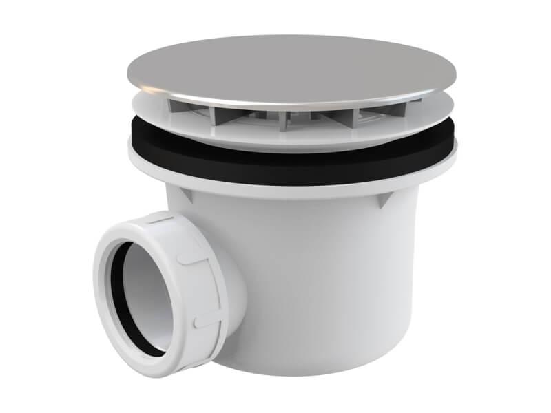 Sprchový sifon ALCAPLAST Průměr 90mm, chrom