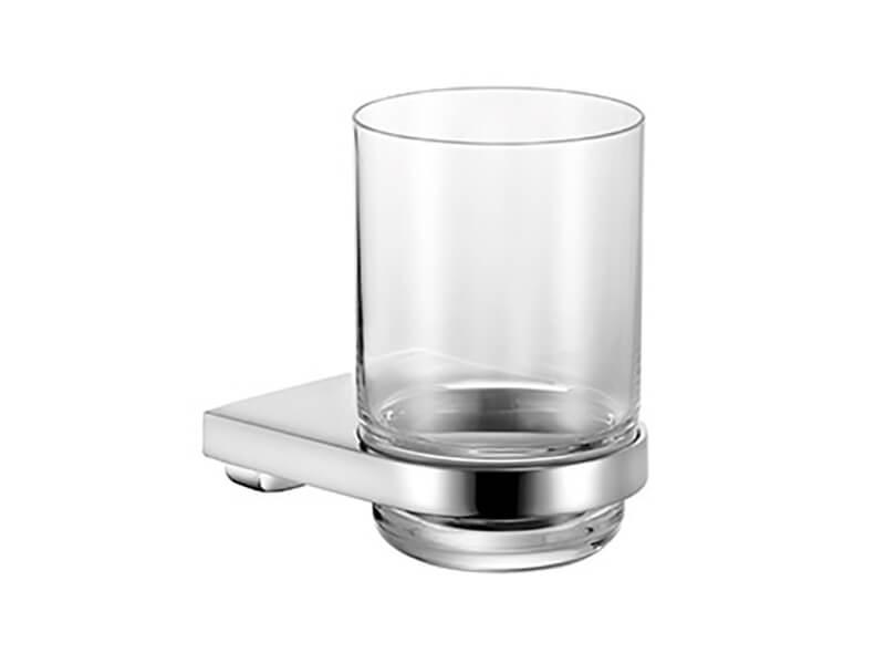 Držák se skleničkou MOLL Barva: sklo / chrom