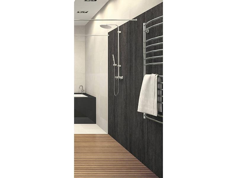 Obklad - kompozitní panel VIPANEL Barva: stone black, matný povrch