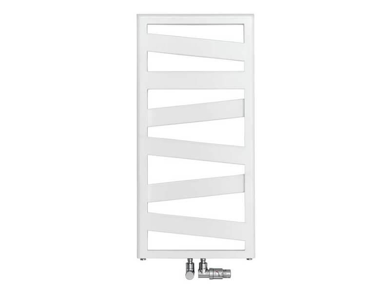 Koupelnový radiátor KAZEANE Rovný radiátor, barva bílá