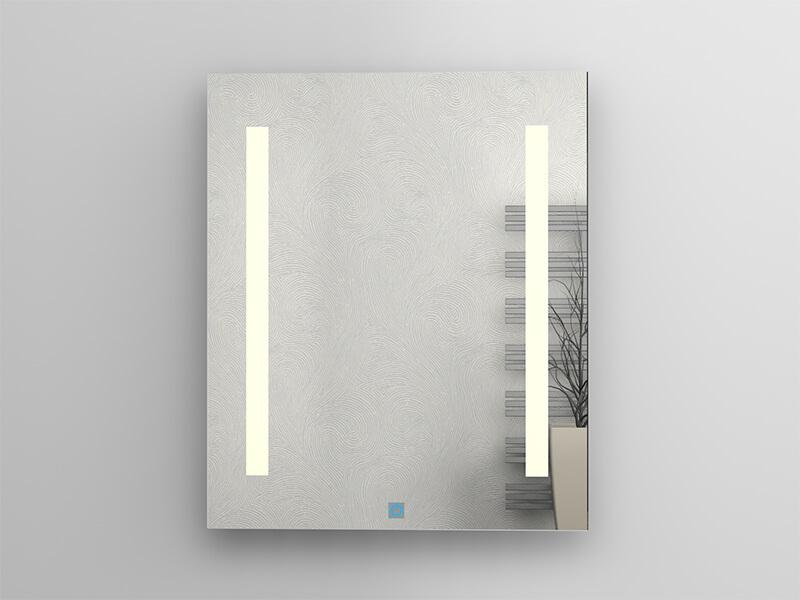 Zrcadlo s LED osvětlením DAVOS Příkon: 2x7,5 W