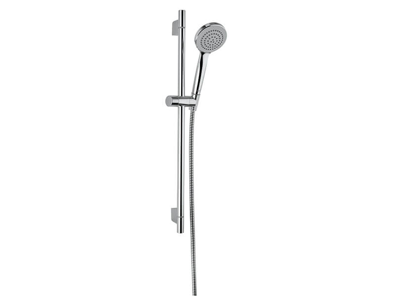 Sprchová souprava OPTILINE Délka tyče 60 cm, průměr ruční sprchy 10 cm, 1 funkce, hadice 160 cm, barva chrom
