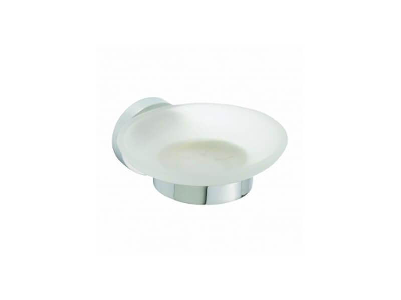 Mýdlenka s držákem OMEGA Barva: sklo/chrom
