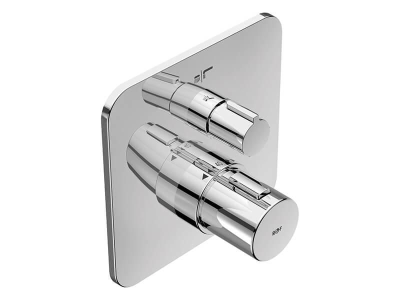 Termostatická sprchová baterie MYSTYLE 2.0 Vanová podomítková baterie (vrchní díl), chrom