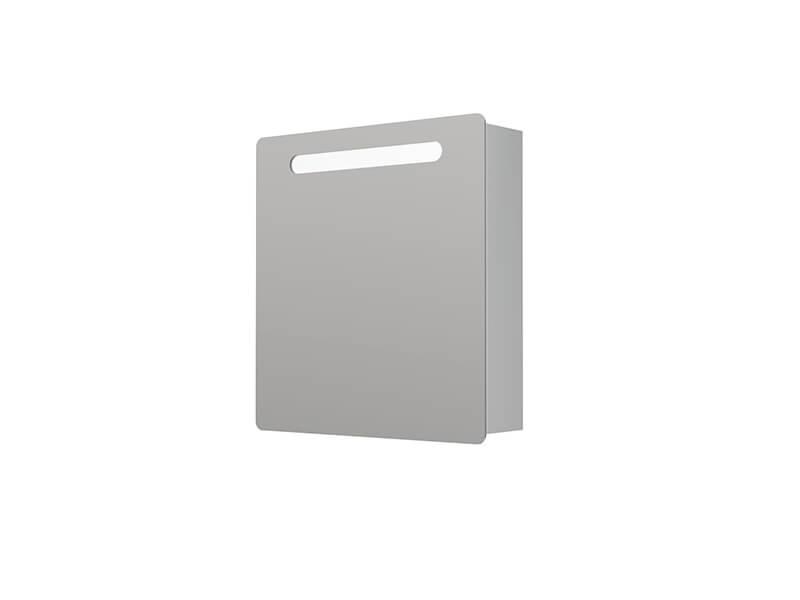 Skříňka zrcadlová DAVOS 2.0 S LED osvětlením, příkon 18W, 1x dvířka, levé/pravé, barva bílá