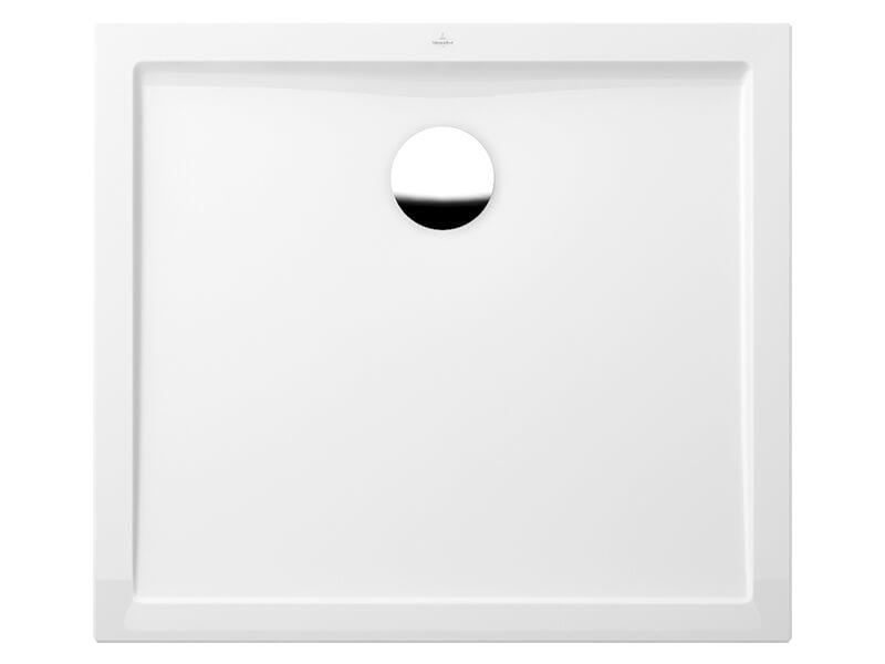 Vanička sprchová obdélník FUTURION Materiál litý mramor, barva bílá
