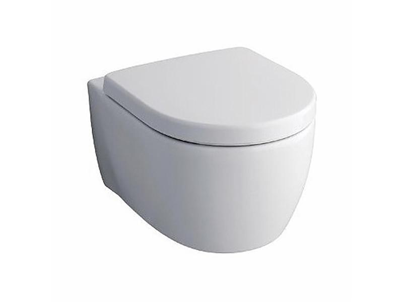 Závěsné WC ICON Rimless, barva bílá