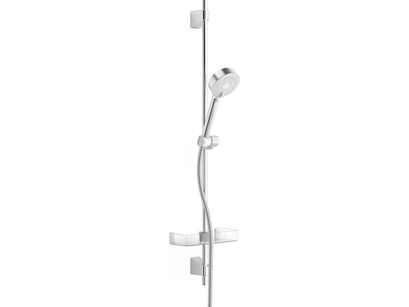 Sprchová souprava HANSA Délka tyče: 92 cm, průměr ruční sprchy: 9,5 cm, 3 funkce, hadice 175 cm, barva chrom