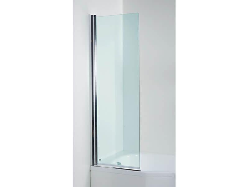 Zástěna sprchová TIGO 1/4 kruh, posuvné dveře, rádius R540, čiré sklo s úpravou, stříbrný rám s vysokým leskem