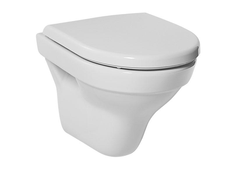 WC TIGO Bílé závěsné WC, zkrácené
