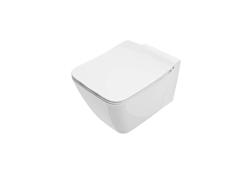WC závěsné STRADA II Barva: bílá, Aquablade
