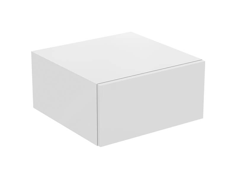 Skříňka pod desku ADAPTO Barva: bílá lesklá, závěsná skřnka, 1x zásuvka