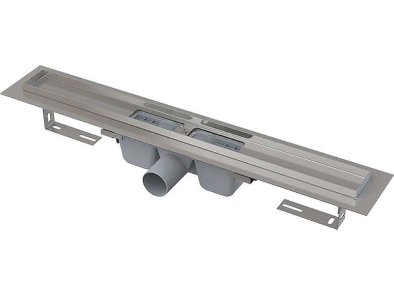 Sprchový žlab PLANO Nerezový žlab, průměr odpadu 50 mm, průtok 60l/min.
