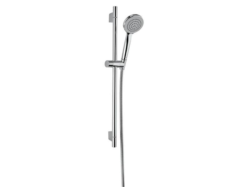 Sprchová souprava PLANO Délka tyče 60 cm, průměr sprchy 10 cm, 1 funkce, hadice 160 cm, barva chrom