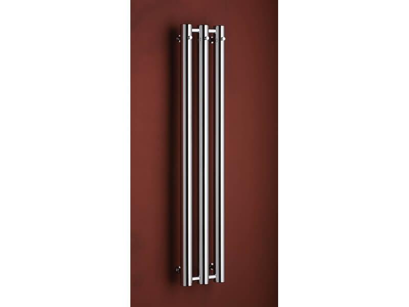 Koupelnový radiátor ROSENDAL Trubovký radiátor s bočním připojením, barva chrom