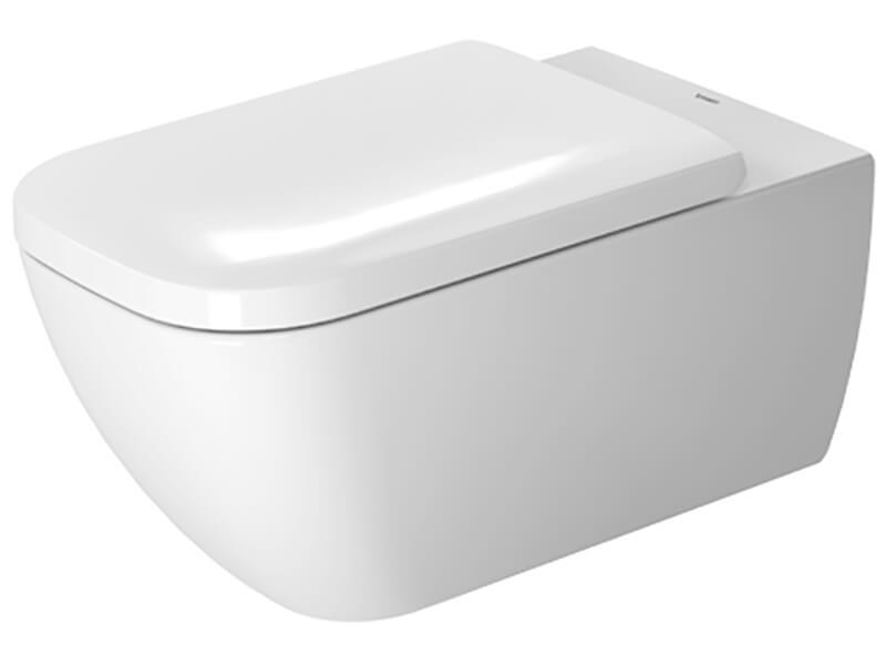 WC závěsné HAPPY D2 Rimless, barva bílá