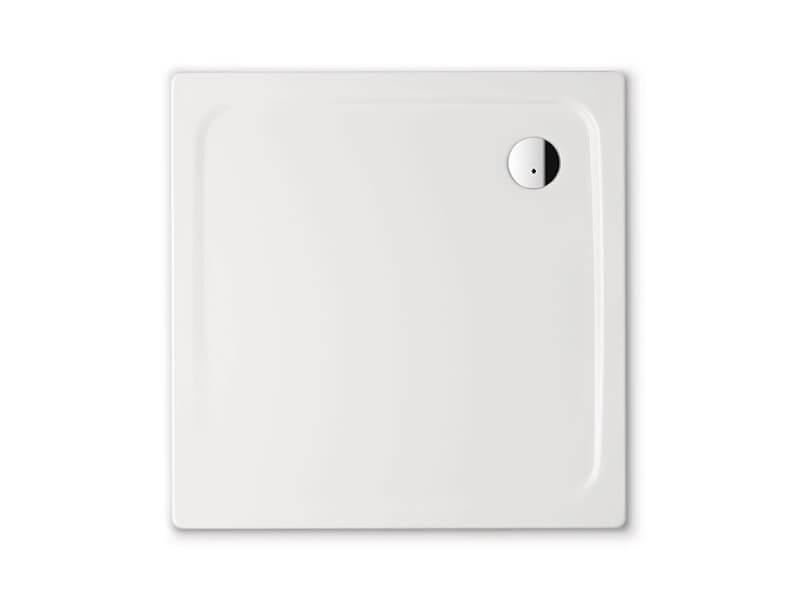 Sprchová vanička KALDEWEI Smaltovaná čtvercová vanička, barva bílá