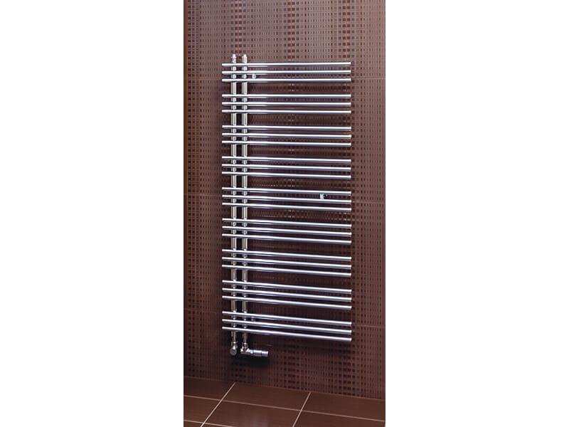 Koupelnový radiátor YUCCA Rovný radiátor s bočním připojením, barva chrom