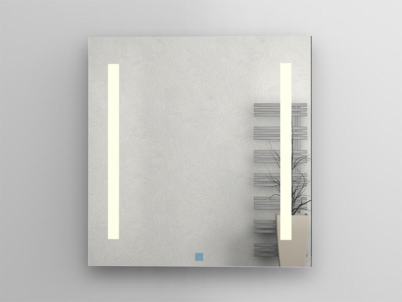 Zrcadlo s LED osvětlením DAVOS Příkon 2x7,5 W