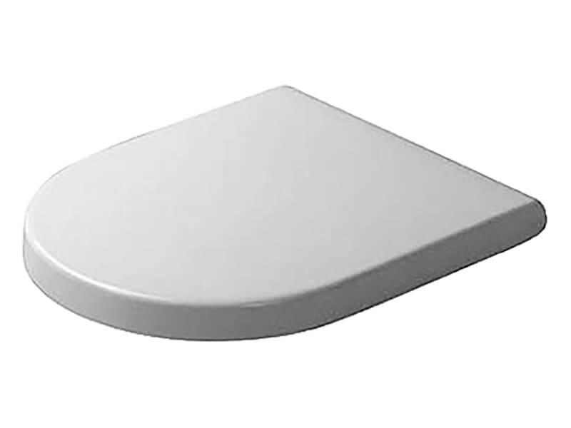 WC sedátko STARCK 3 Duroplast, zpomalovací, barva bílá