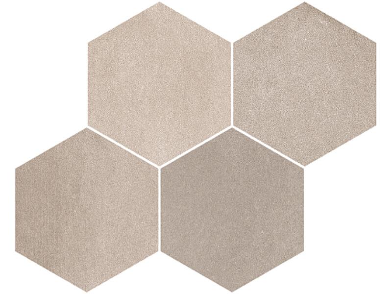 Mozaika hexagono DERBY Barva: vision, matná