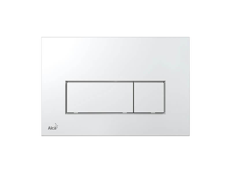 Ovládací deska ALCAPLAST Dual flush, plast, barva chrom