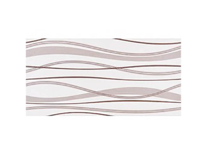 Dekor HABITAT Barva: wawes ice noce, matný povrch