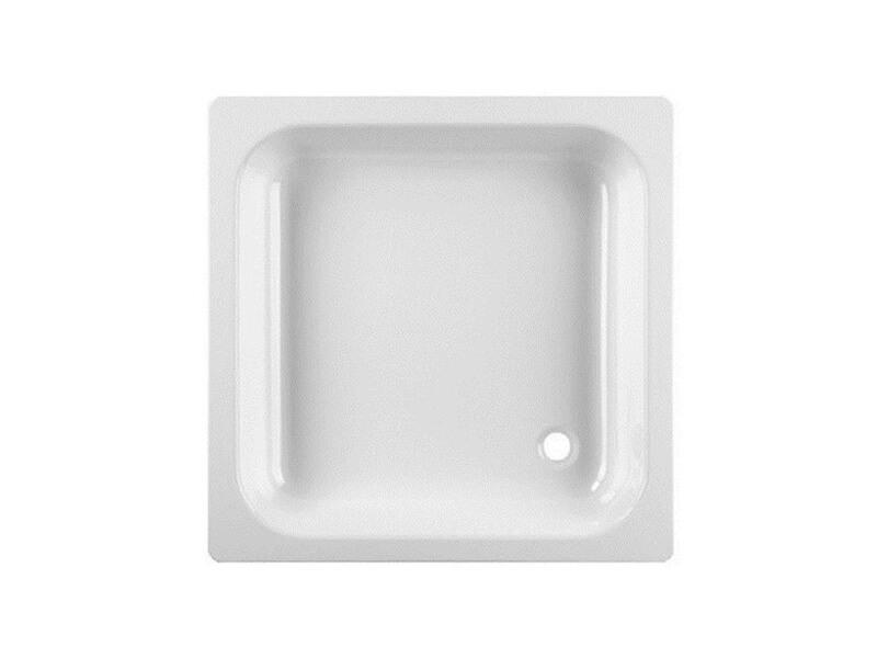 Sprchová vanička JIKA Smaltovaná čtvercová vanička, barva bílá