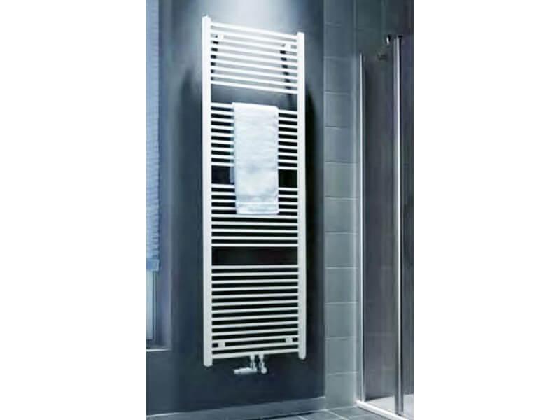 Koupelnový radiátor KERMI B20M Rovný radiátor se středovým připojením, barva bílá