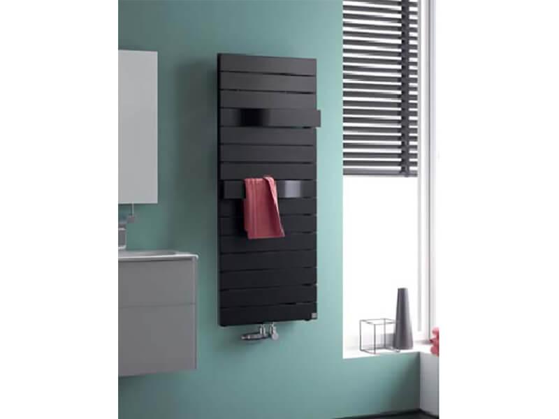Koupelnový radiátor TABEO Boční připojení, barva graphite metalic
