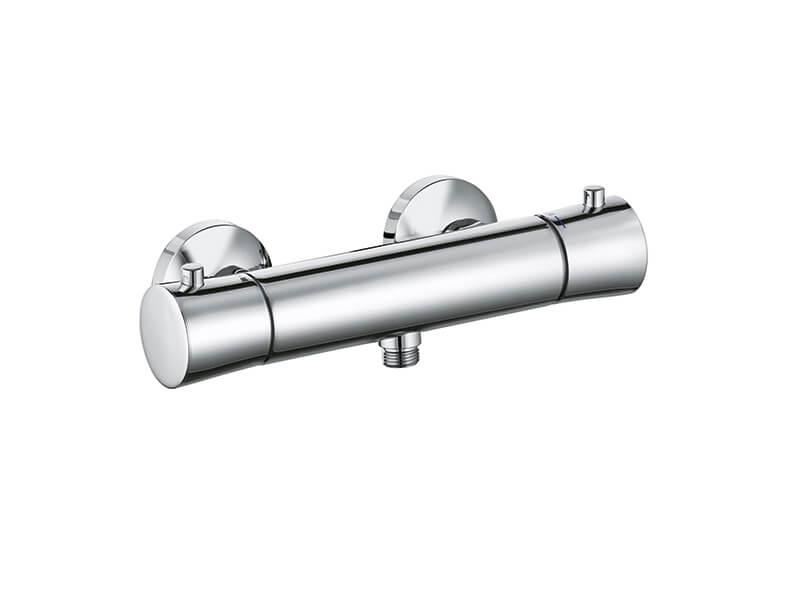 Sprchová termostatická baterie BALANCE Nástěnná baterie bez příslušenství, rozteč 15 cm, barva chrom