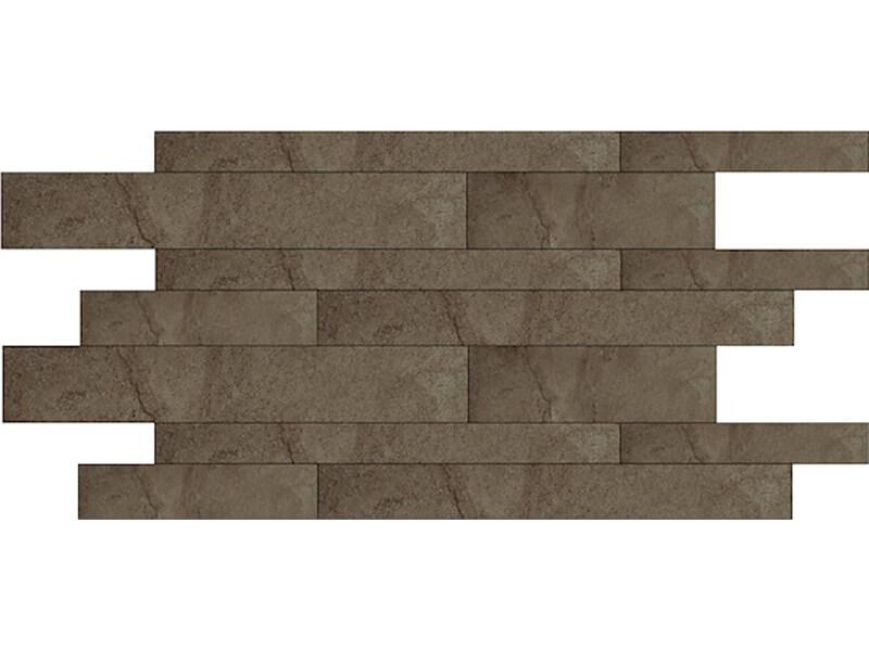 Mozaika MURO Z STONE MIX Barva: limestone brown naturale, matný povrch, mrazuvzdorná