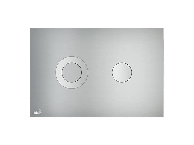 Ovládací deska  Dual flush, barva ALUNOX- mat