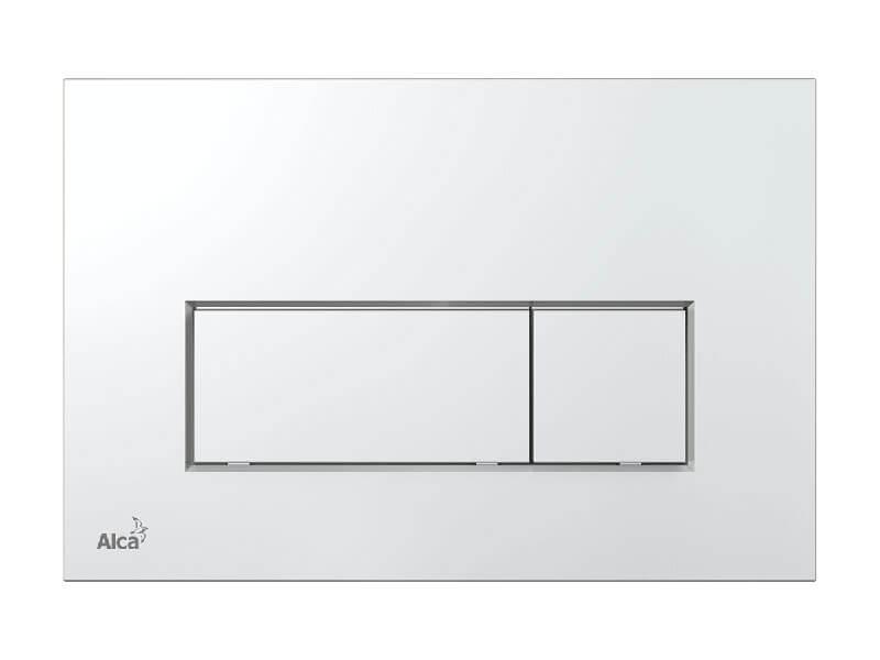 Deska ovládací ALCAPLAST Dual flush, plast, barva chrom