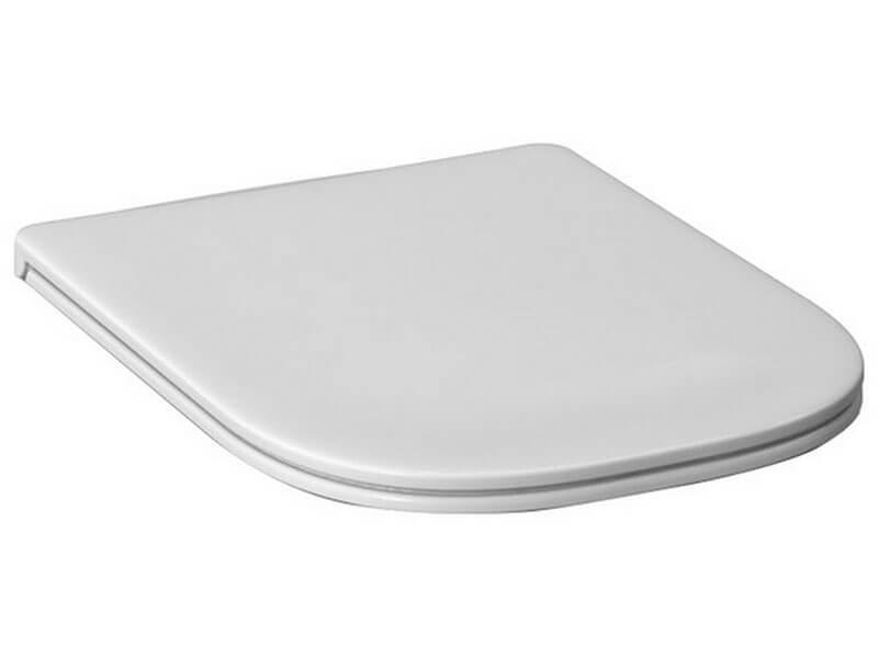 WC sedátko DEEP BY JIKA Zpomalovací/duroplast, barva: bílá